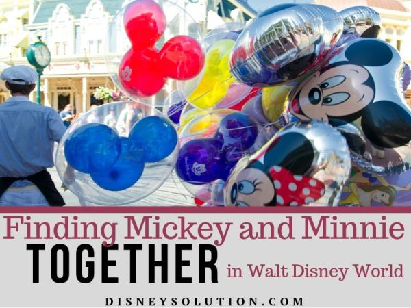 Finding Mickey and Minnie Together