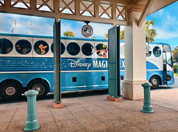 Magical Express pickup at Disney's Caribbean Beach Resort