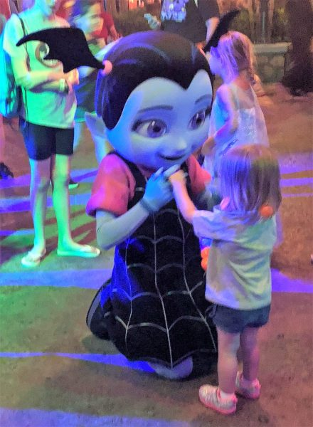 Vampirina at the Storybook Circus Disney Junior Jam at Mickey's Not So Scary Halloween Party