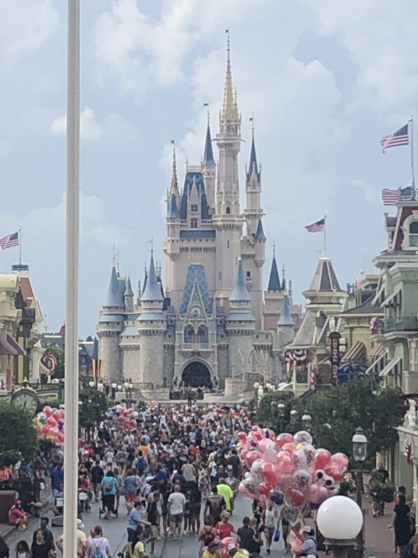 A typical day in the Magic Kingdom