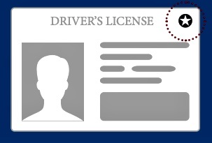 An example of a Real ID-compliant License