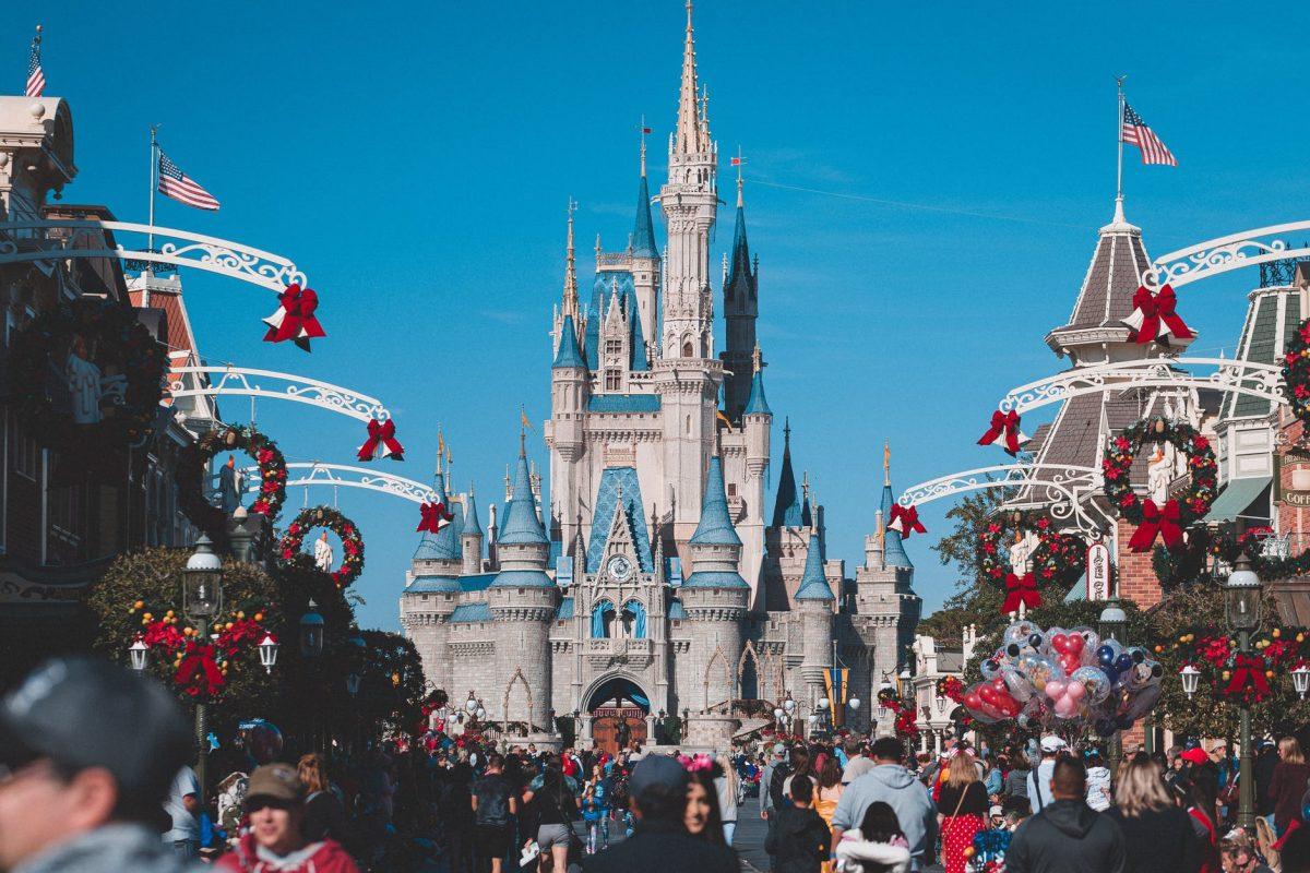 Magic Kindom during the Holidays