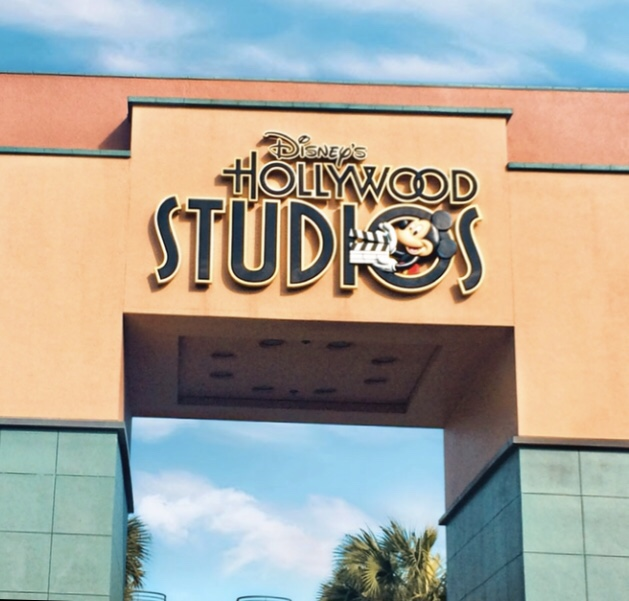 The old Hollywood Studios Entrance