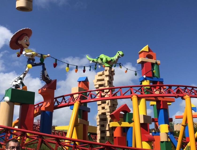 Slinky Dog Dash in Disney's Hollywood Studios