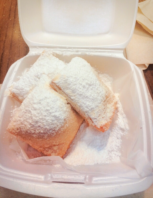 beignets from Port Orleans French Quarter
