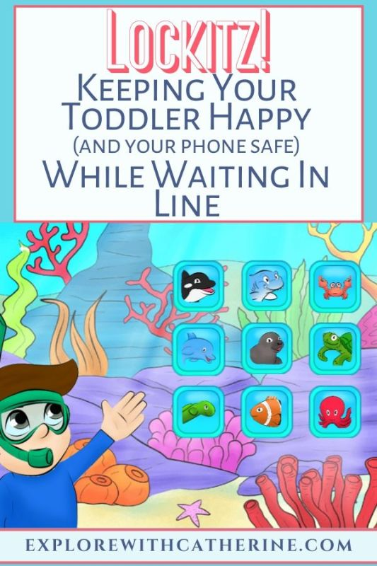 Lockitz! Keeping Your Toddler Happy While Waiting In Line