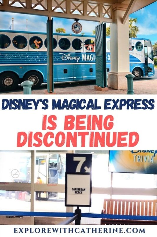Disney's Magical Express Is Being Discontinued