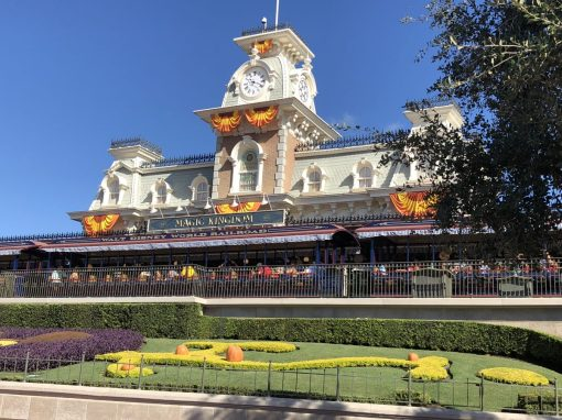 The train station at Magic Kingdom in Walt Disney World