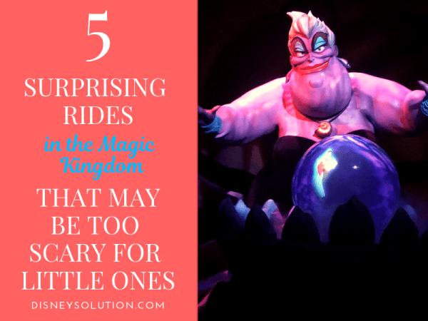 Scary rides in Magic Kingdom