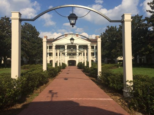 Beautiful Southern Style architecture at Port Orleans - Riverside in Walt Disney World