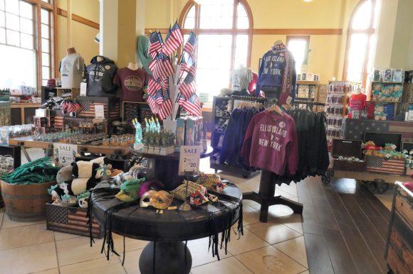 shop at Ellis Island