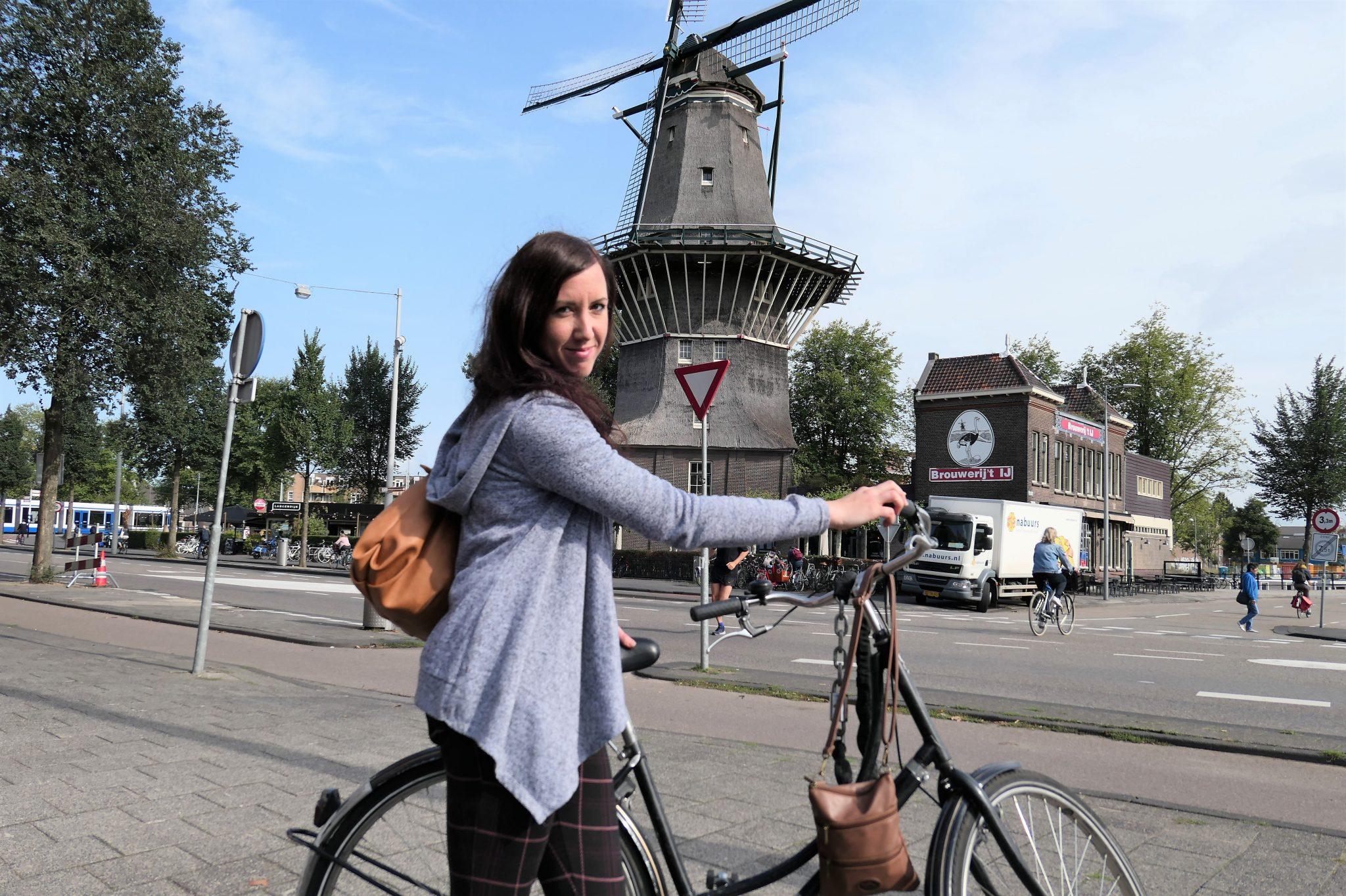 rent a bike in Amsterdam