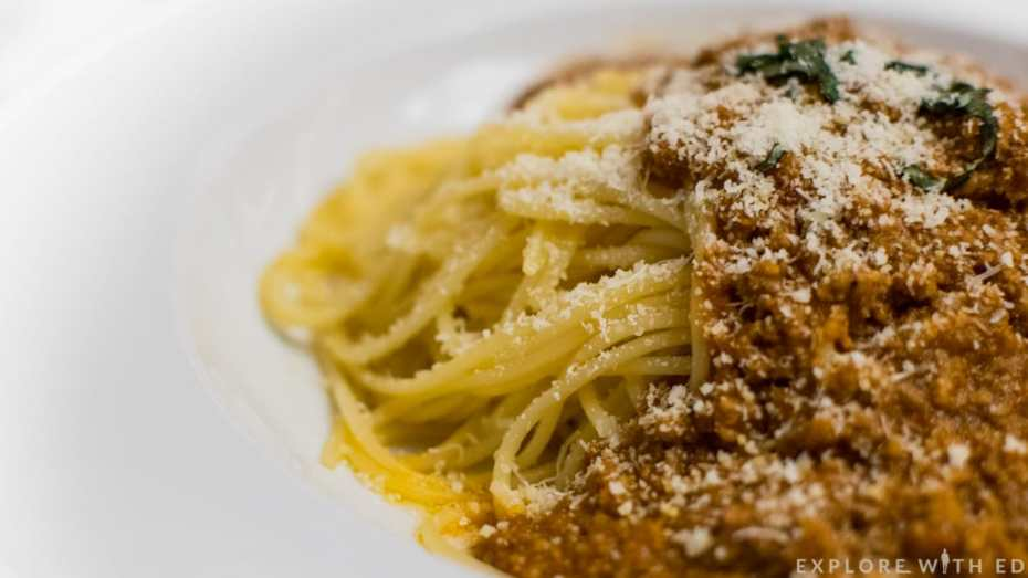 Spaghetti Bolognese, Manhattan Restaurant