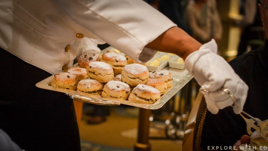 Scones, Afternoon tea, Queen Elizabeth, Queen's Room