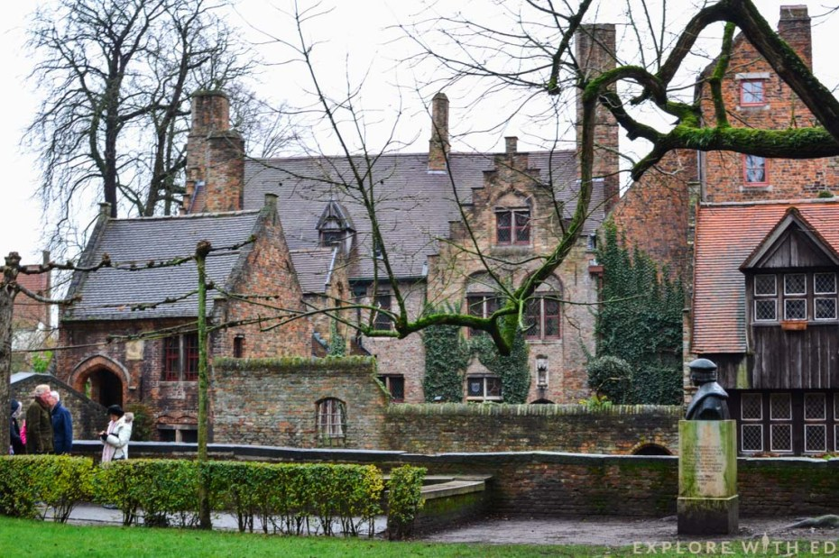 Bruges gothic architecture