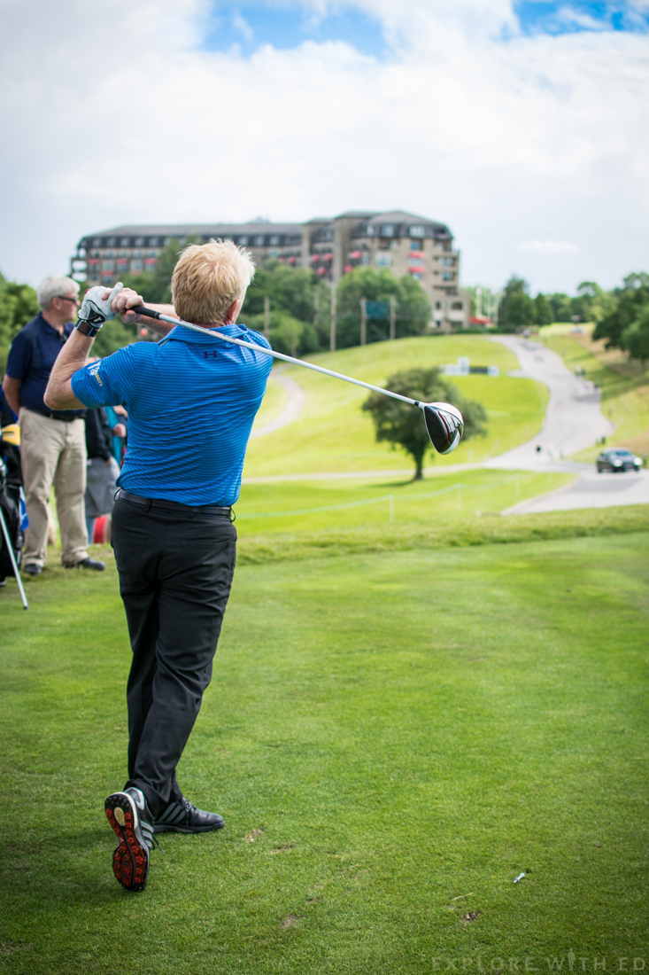 Team Scotland The Celebrity Cup at The Celtic Manor