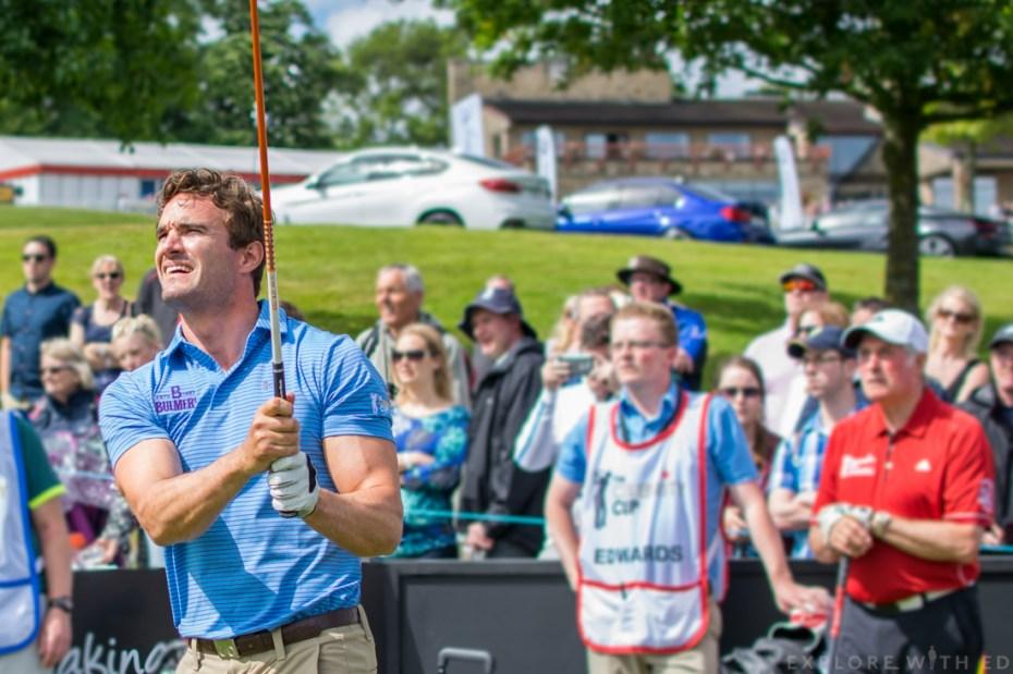 Thom Evans for Team Scotland