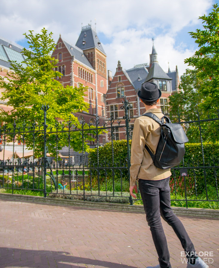 Exploring Museum Square and Rijksmuseum in Amsterdam