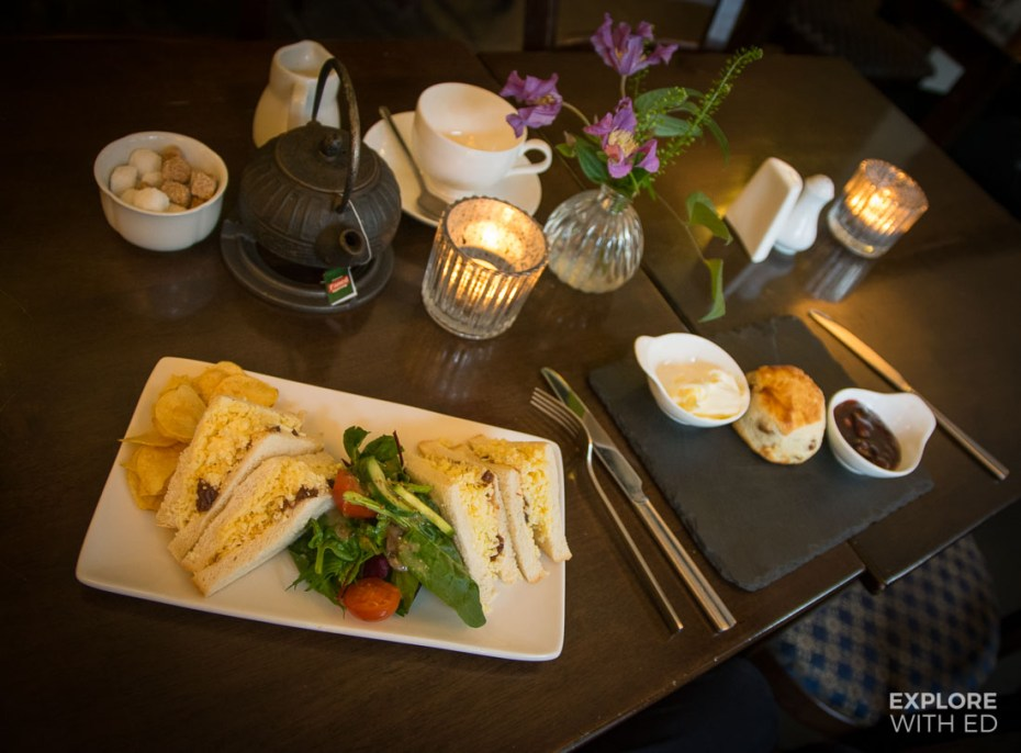 The Dragon Inn Crickhowell menu option