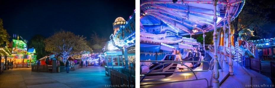 Amusement Rides at Cardiff's Winter Wonderland