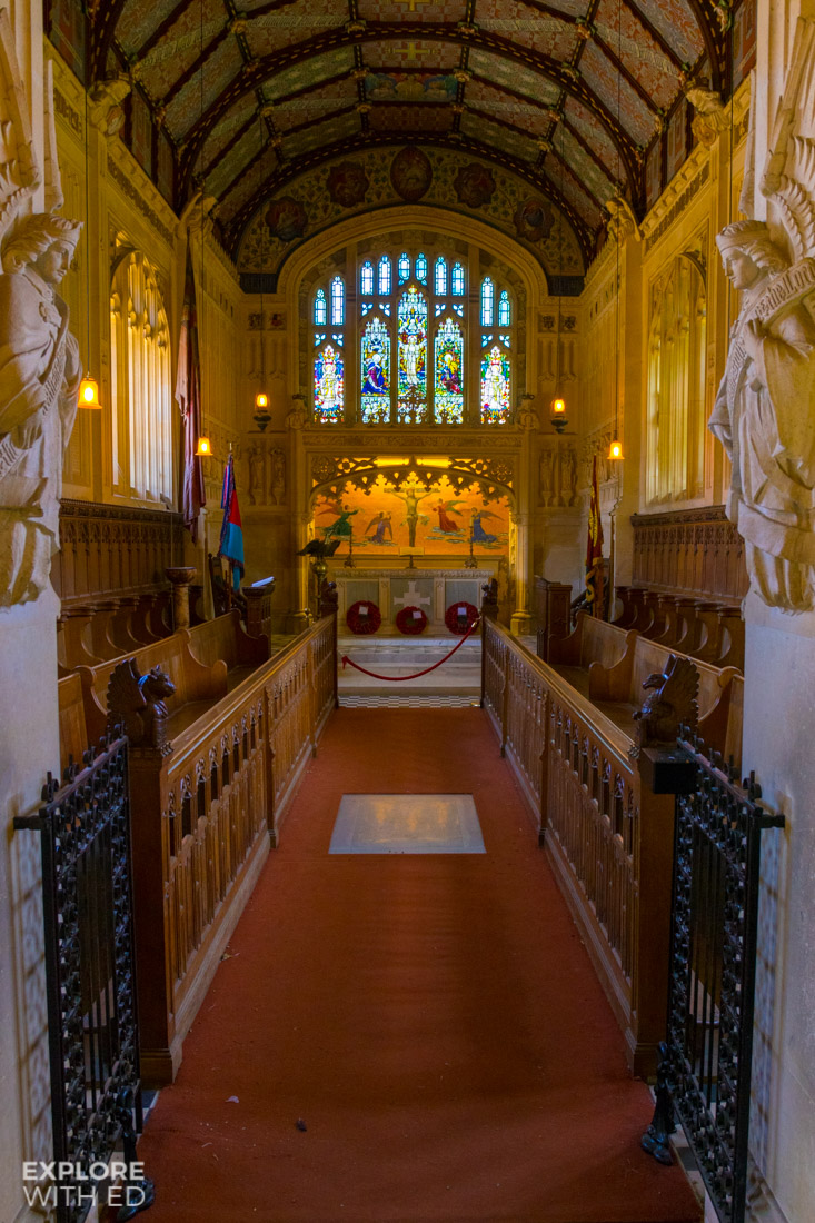 Chapel at Carisbrooke Castle