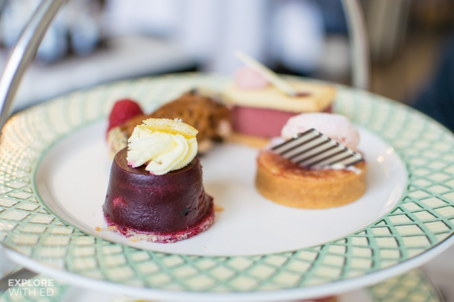 Summer berry desserts at The Celtic Manor's Olive Tree