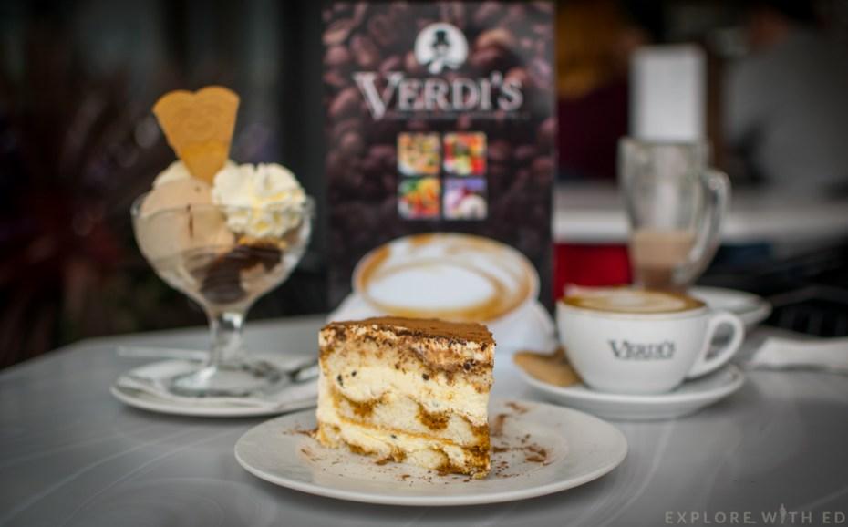 Verdi's Café, Ice cream parlour Mumbles, Swansea Bay