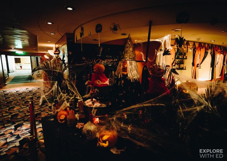 MSC Cruise Halloween Party