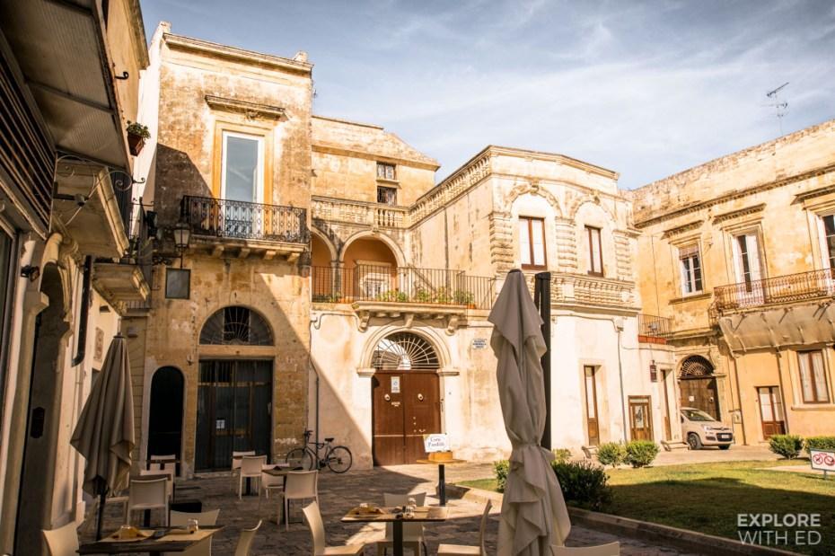 Lecce in Apulia
