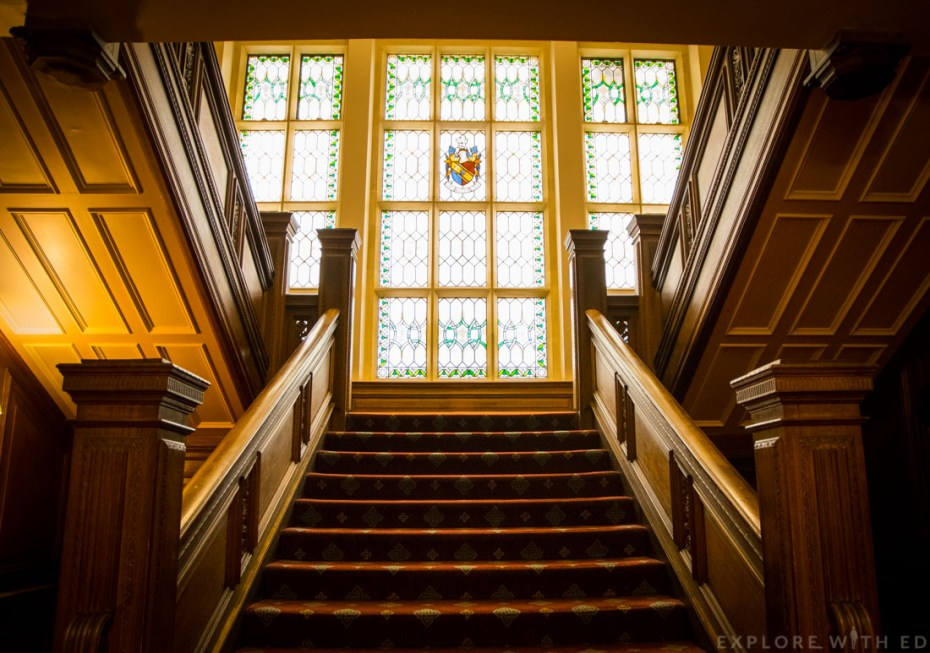 Manor House Celtic Manor, Oak Staircase, Grand Staircase