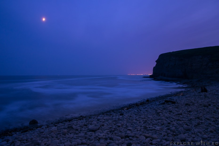Dunraven Bay, Night Photography, Long exposure, Seascape
