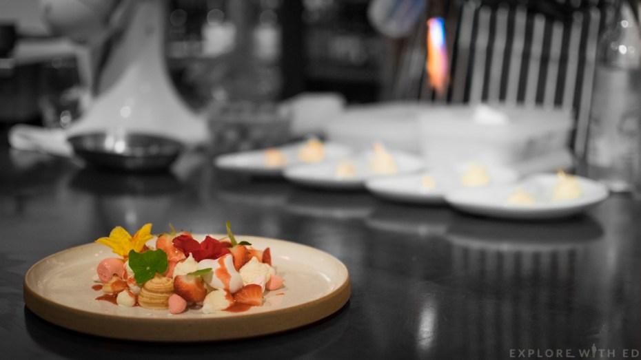 Eton Mess, Edible Flowers, Strawberry Soup, Dessert