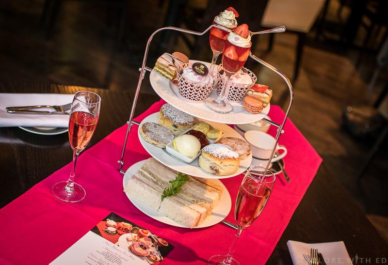 Pink Afternoon Tea for Breast Cancer Care Cymru