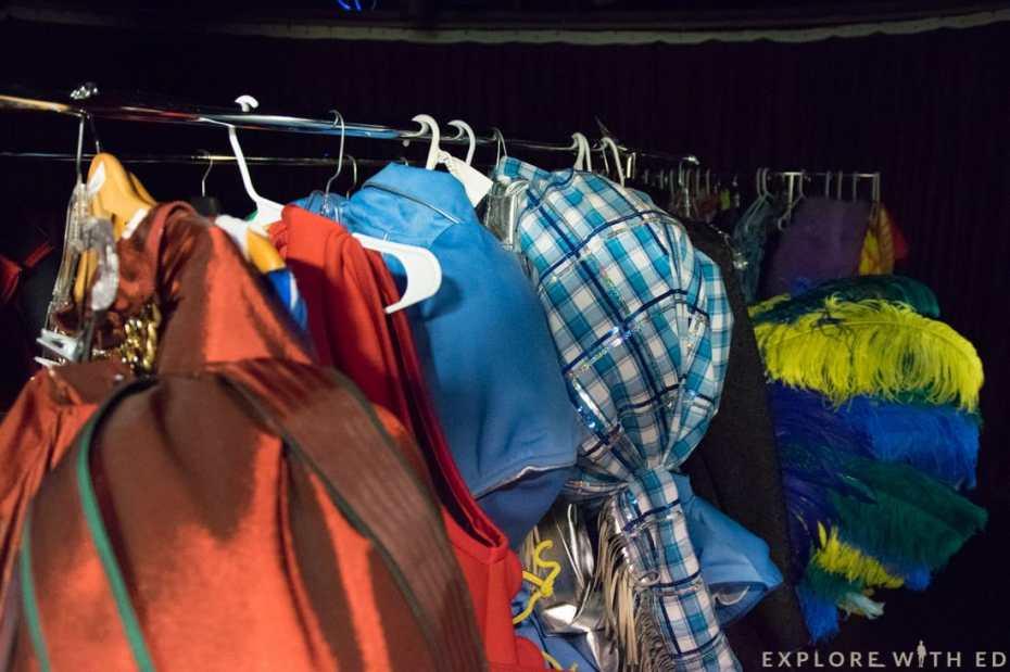 Norwegian Epic Behind the scenes, Priscilla costumes