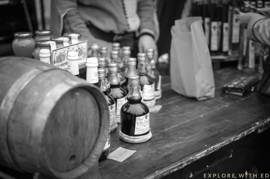 Ludlow Medieval Christmas Fayre, Drinks stall