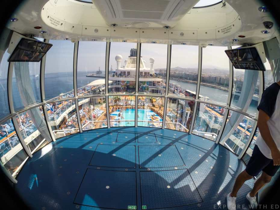 Inside north star Anthem of the Seas