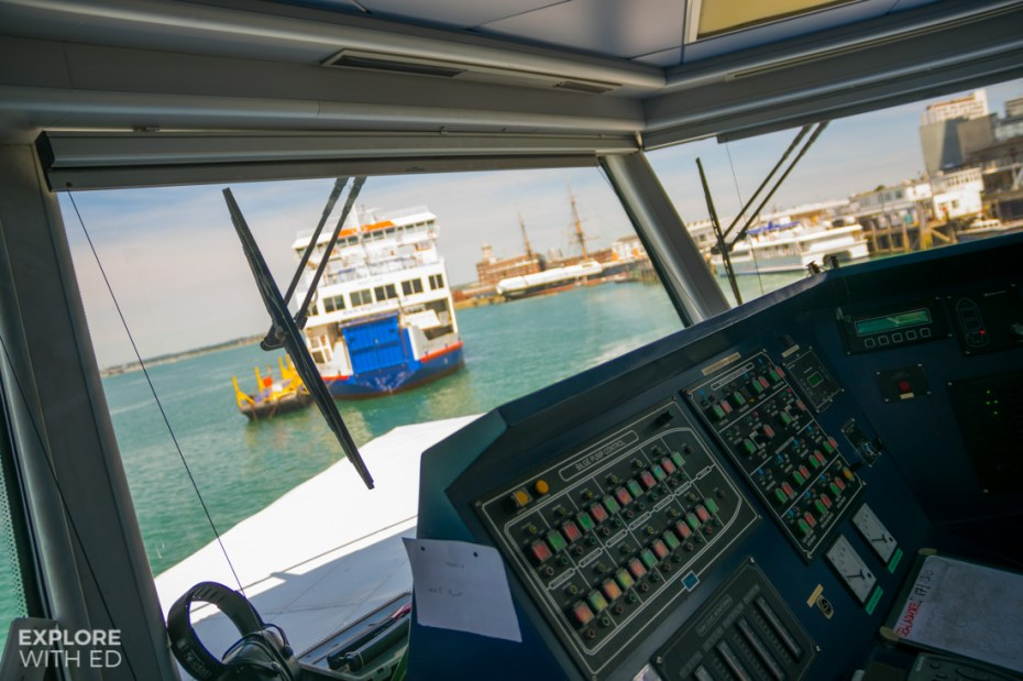 Wightlink Ferries in Portsmouth Harbour