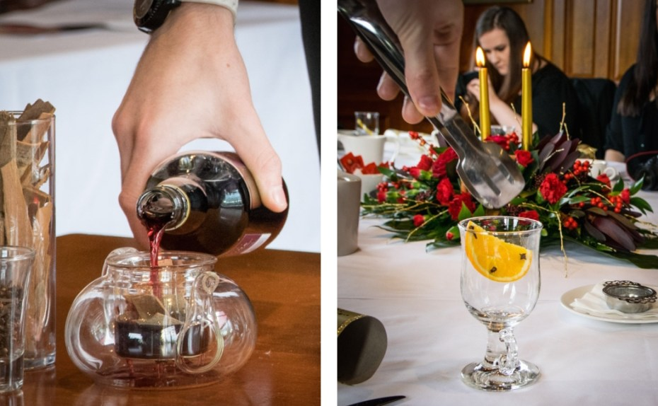 Mulled wine making, The Celtic Manor