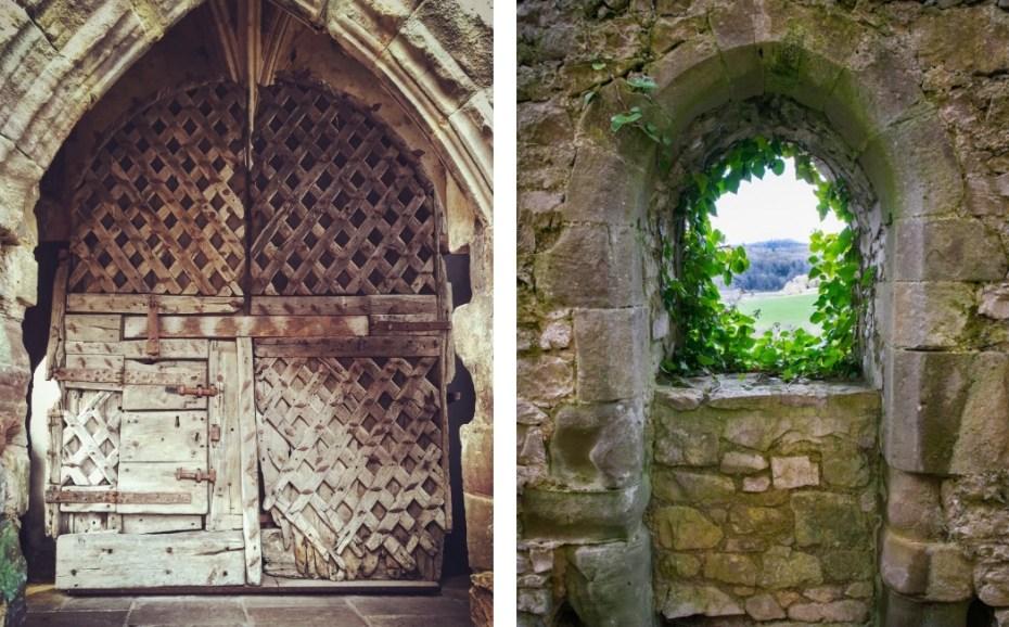 Oldest castle door in Europe, Chepstow Castle