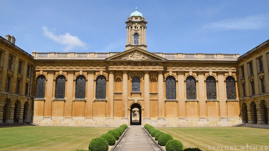 Queen's College, Oxford University, Oxford