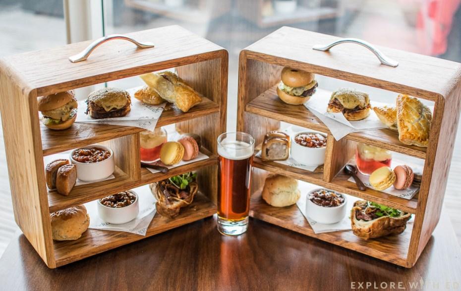 Gentlemen's Afternoon Tea at Tempus at Tides, St David's Hotel Afternoon Tea