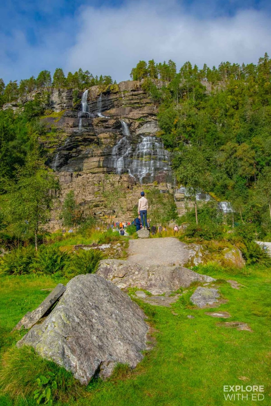 Tvinde Waterfall in September