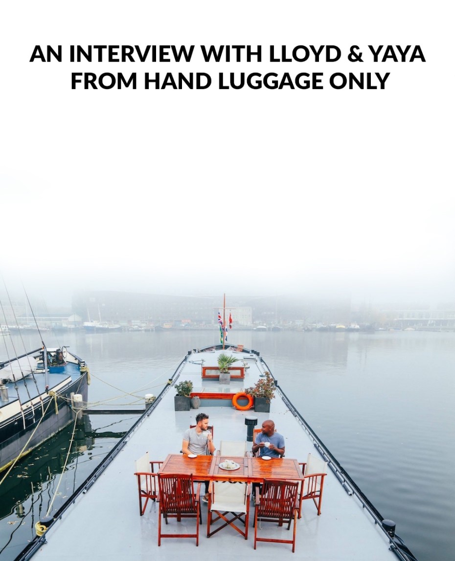 Title Image for The Hand Luggage Only blog interview