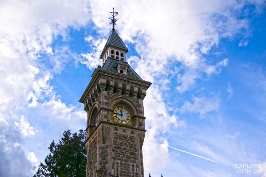 Hay-on-Wye clock tower