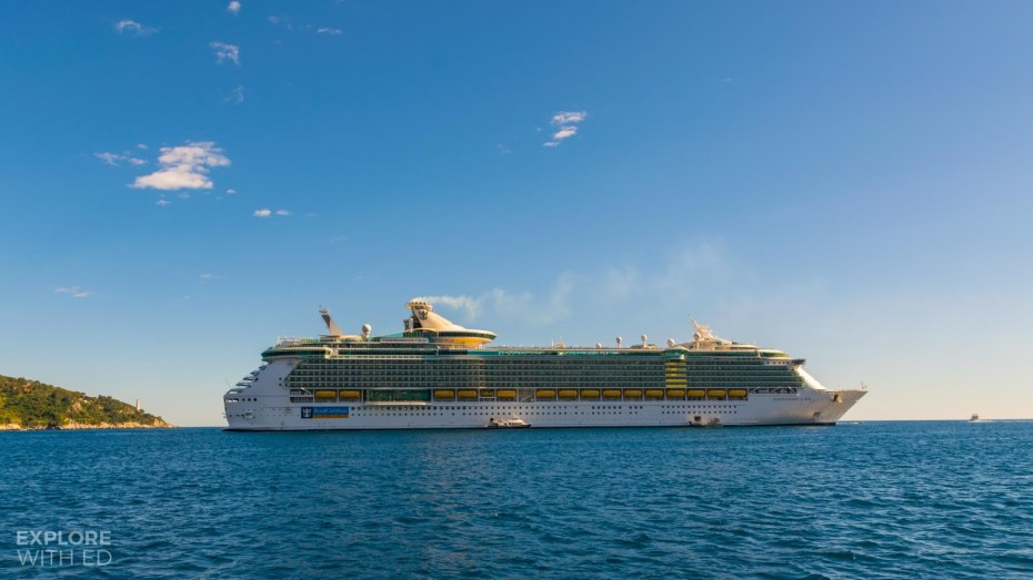 Independence of the Seas tender boat in Villfranche-sur-Mer
