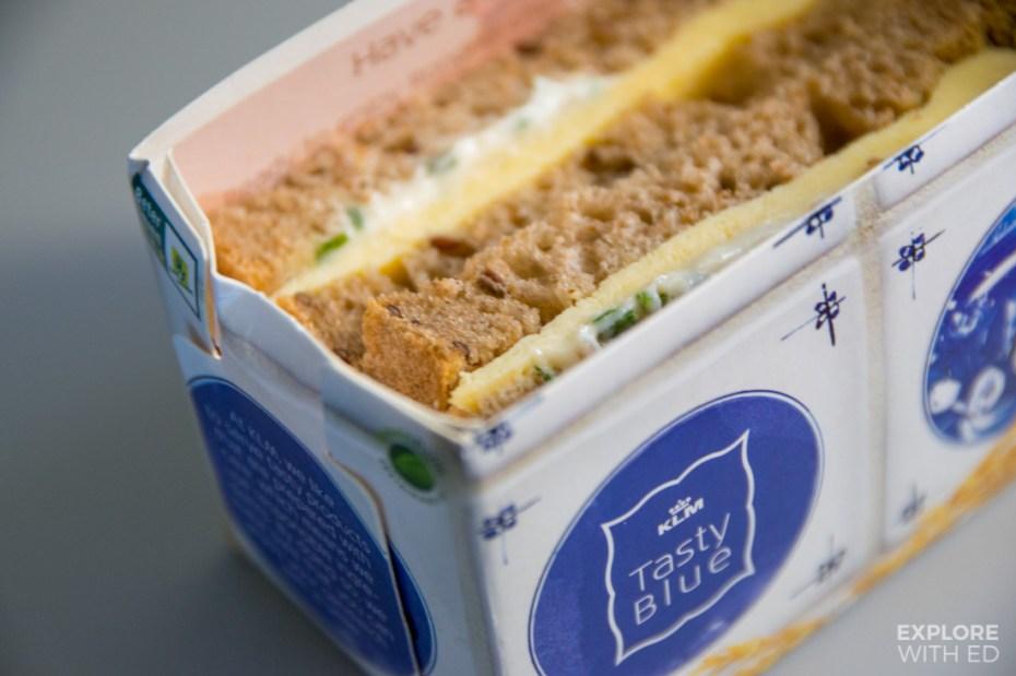 Food onboard KLM