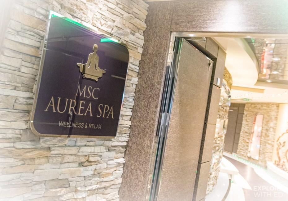 MSC Aurea Spa Logo
