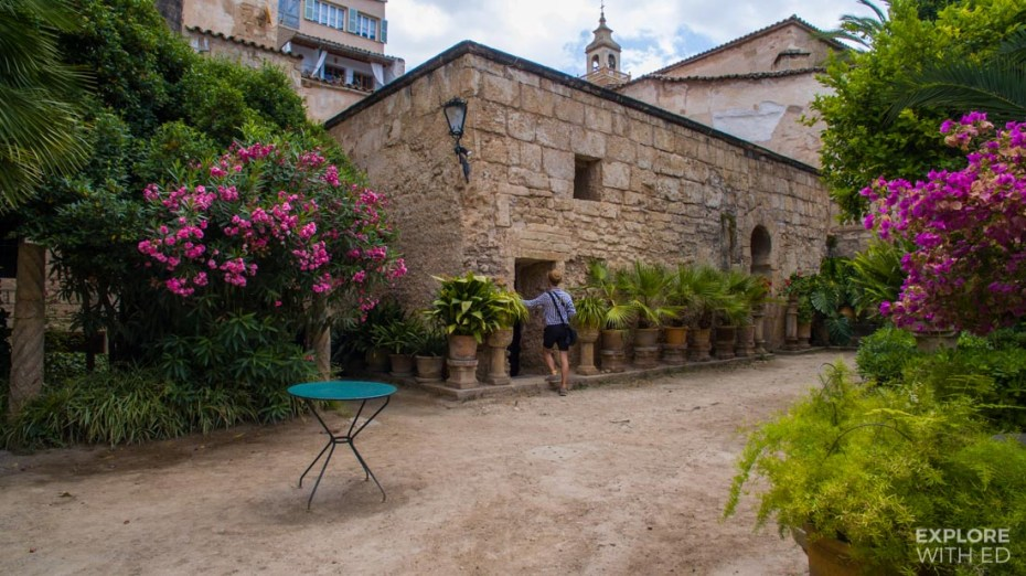 The Arab Baths in Palma de Mallorca