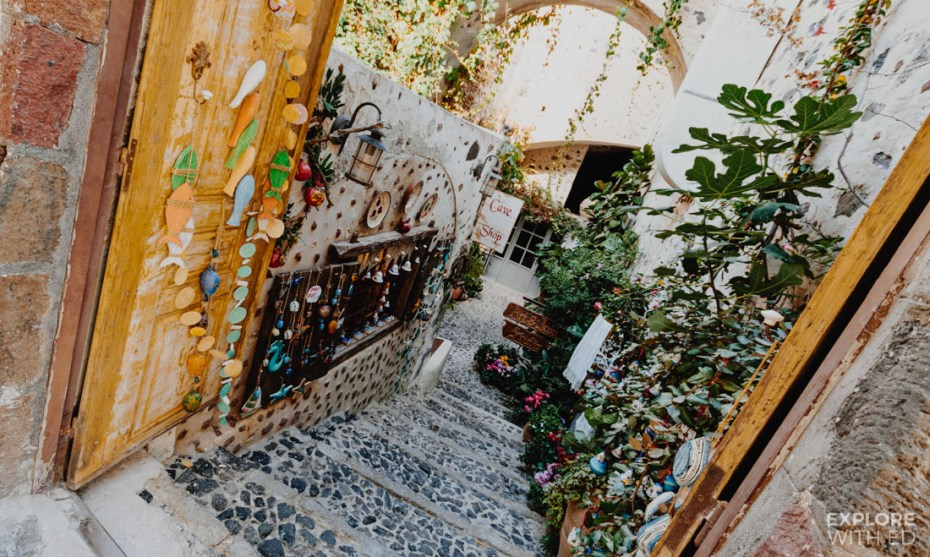 The Cave Shop in Fira Santorini