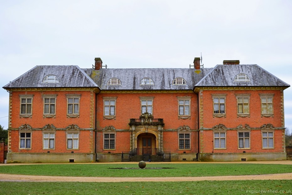 Tredegar House National Trust building in Newport
